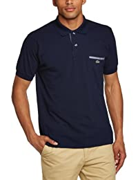 Lacoste - Polo Homme - PH1981-00 - Multicolore (MARINE/MARINE-BLANC) - FR : X-Large (Taille fabricant : X-Large)