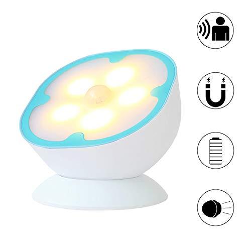Luz de Noche, luz de inducción de Cuerpo Humano Inteligente Noche USB...