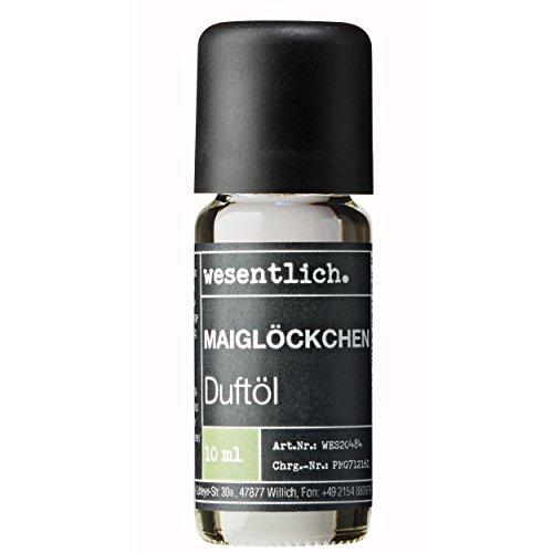 Duftöl Maiglöckchen - Aromaöl u.a. für Duftlampe und Diffuser - Premium Raumduft von wesentlich. (10ml) -