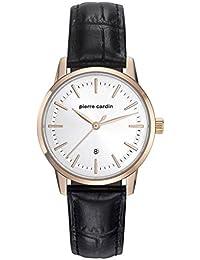 b846b0aaee06 Pierre Cardin Reloj Analogico para Mujer de Cuarzo con Correa en Cuero  PC901862F02