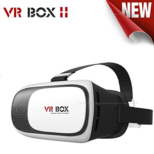US1984® VR Box 2nd Generation Enhanced Version Virtual Augmented Reality Cardboard 3D Video Glasses Headset For iPhone 6S 6 Plus SE 5S 5 Samsung Galaxy S7 Edge Plus S6 S5 S4 Note 5/4/3/2- 4.7