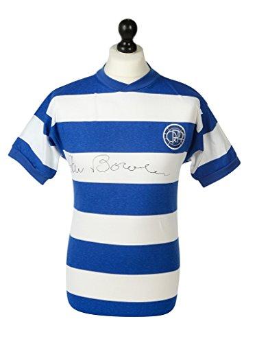 Stan-Bowles-Signed-Shirt-Autograph-Queen-Park-Rangers-QPR-Jersey-Memorabilia-COA
