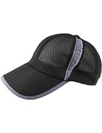 Gorra protección solar adultos anti-UV gorra béisbol protección solar snapback hombres/mujeres visera