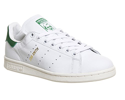 adidas Stan Smith White White Green Blanc