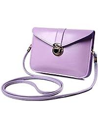 Women Messenger Bags Vintage Style PU Leather Handbag Sweet Cute Cross Body Handbags Clutch Messenger BagsLight...