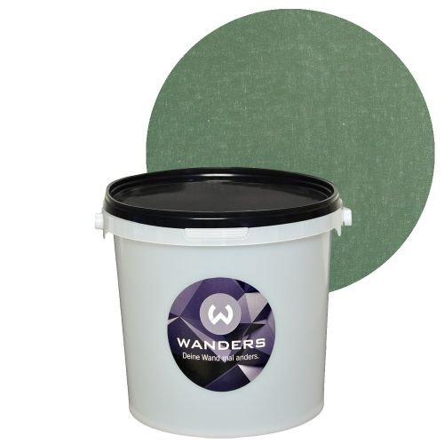 Wanders24 Shabby-Chic (3 Liter, Dunkelgrün) Kreidefarbe, Effektfarbe, Vintage, Used-Look,...