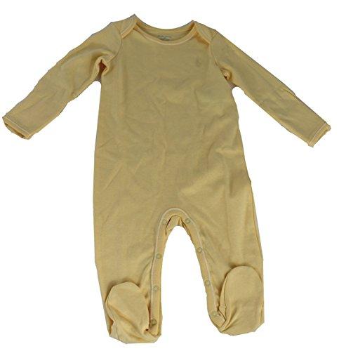 Polo_Ralph Lauren Baby Mädchen (0-24 Monate) Spieler Gr. 9 Monate, gelb