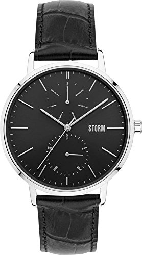 Storm London Denston 47307/BK Montre-Bracelet pour hommes Point Culminant de Design