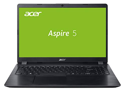 Acer Aspire 5 (A515-52-39FF) 39,6 cm (15,6 Zoll Full-HD matt) Multimedia Laptop (Intel Core i3-8145U, 4 GB RAM, 128 GB SSD, Intel UHD, Win 10 Home) schwarz -