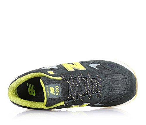 New Balance KL580WPG, Sneaker Ragazza Verde/Giallo