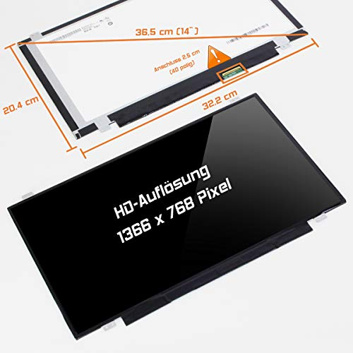 Display Screen Glossy Ersatz für Lenovo ThinkPad Edge E431 6277-AVU HD Bildschirm Panel ()