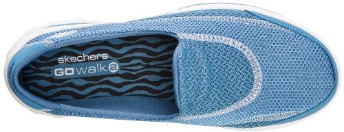 Skechers Go Walk 2Spark, Chaussons Sneaker Femme Bleu (Blu)