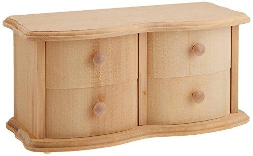Four 543-8081 Setoko jewelry box drawer (japan import)