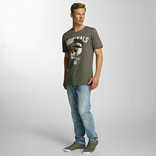 JACK & JONES Uomo Maglieria/T-Shirt Jjorfaster Verde