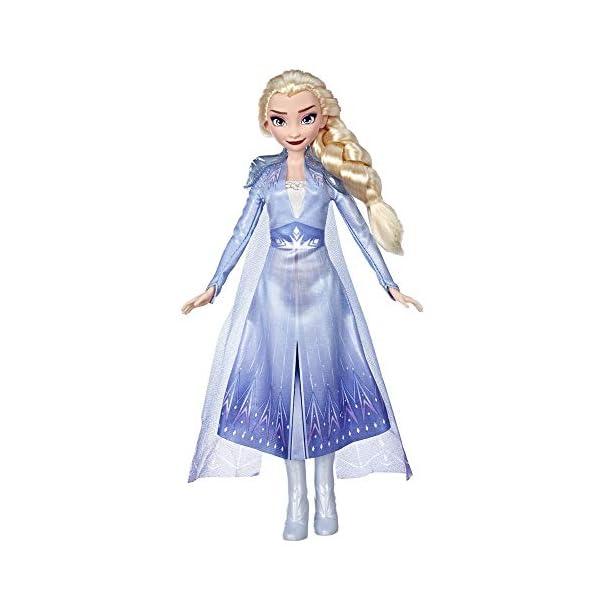 Hasbro Frozen Hasbro Disney Elsa Fashion Bambola con Capelli Lunghi e Abito Blu, Ispirata al Film Frozen 2, Multicolore… 1 spesavip