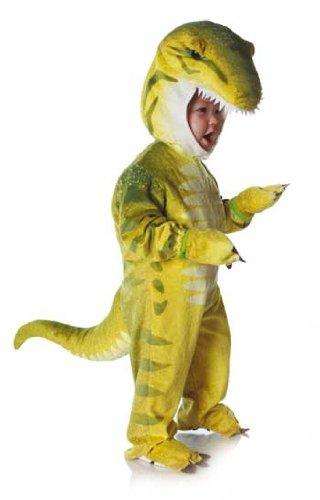 Dino Rex Kostüm Grün L (T Baby Dinosaurier Rex Kostüm)