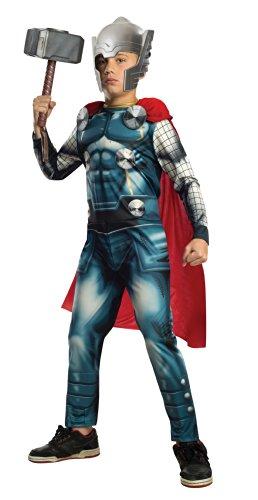 Rubie's Costume Co Marvel Universe Avengers Assemble Thor Costume, Small