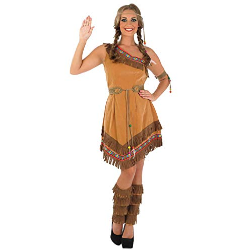 Dress Pocahontas Kostüm - Indian Girl Costume