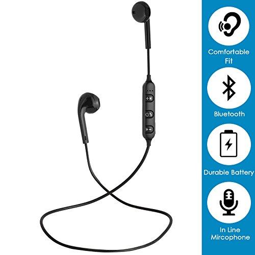 b2f5a7efcae 25% OFF on PTron Avento Wireless in Ear Bluetooth Headset (Black) on Amazon