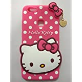 Rapid Zone 3D Hello Kitty Back Cover For Vivo V7 Plus - Pink