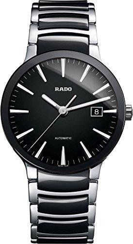 Rado Men's Centrix Black Dial Automatic Watch R30941152