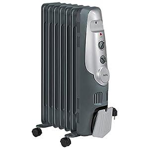 AEG RA 5520 – Radiador de aceite, 1500 W, 7 elementos, termostato, 3 niveles de potencia