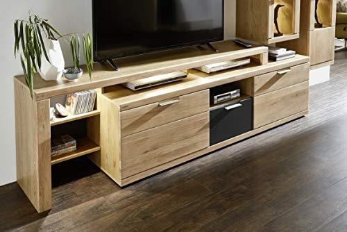 Stella Trading Bianco TV-Aufsatz, Holz, braun, (B/H/T)180 x 66 x 40 cm