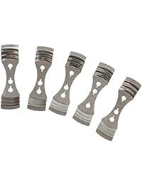 5pcs Metallkerzendochte Halter Zentriervorrichtung Für Die Kerzenherstellung