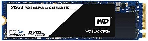 WD Black PCIe 512GB interne NVMe-SSD (Solid State Drive) bis zu 2050 MB/s Lese- und 700/800 MB/s seq. Schreibgeschwindigkeit WDS512G1X0C 512GB