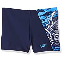 Speedo Neonsurai Digi - Pantalón de Baño Aquashort Niños