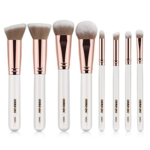 Cosanter 8Pcs/set pinceaux de maquillage Pinceaux Maquillage Cosmétique Brush Beauté Maquillage Brosse Makeup Brushes Tous Types de Maquillage