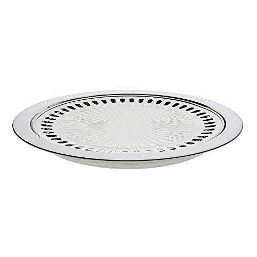 Teglia da forno in acciaio inox teglia da forno in lamiera, vassoio in stick stile coreano bakeware forno domestico vassoio per barbecue all'aperto adatto per qualsiasi stufa