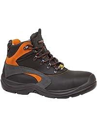 Giasco - Calzado de Protección para Hombre Multicolor Negro/Gris 47 EU gHxT0ZOG2