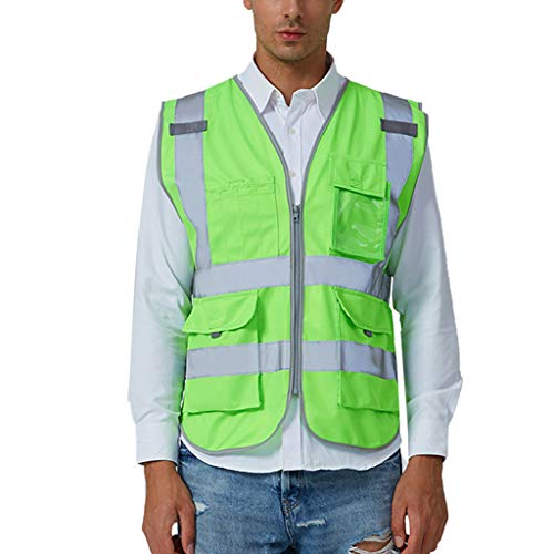 n, Road Work Warnschutz Pullover Langarm Kapuzenpullover Tops Bluse ()