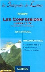 Les Confessions, livres 1 à 4