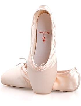 Spitzenschuhe Ballet für Mädchen/Damen in Rosa mit spitzenschuhe schooner und spitzenschuh (Bitte wählen Sie eine...