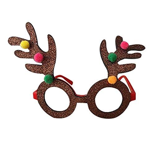 Bello Luna Weihnachten Dekorative Brillen Frame Party Requisiten