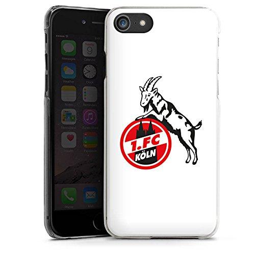 Apple iPhone X Silikon Hülle Case Schutzhülle 1. FC Köln Fanartikel Fußball Hard Case transparent
