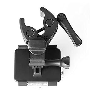 Wewoo Fixation pour GoPro HERO4/3 +/3 Support en Aluminium TMC avec vis