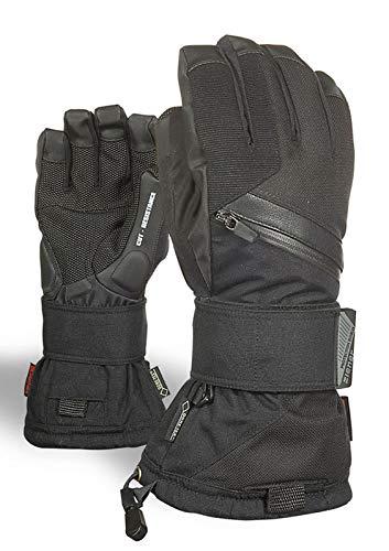 Ziener Erwachsene MARE GTX Gore plus warm glove SB Snowboard-handschuhe, schwarz (black hb), 10