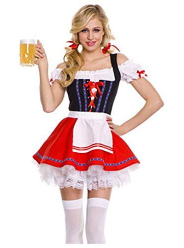 Shangrui Weibchen Cosplay Kostüm Serie Bier Mädchen (Harley Heiße Quinn Kostüme)