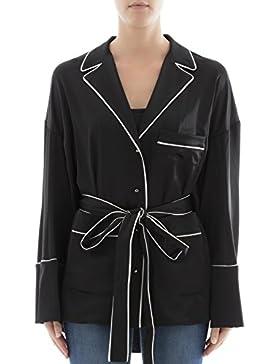 Off-White Camicia Donna OWGA016F176771701001 Acetato Nero