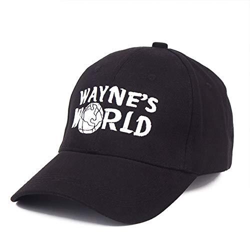 CXKNP Baseball Cap Glaedwine Qualitätshut Kostüm Waynes World Baseball Cap Unisex Erde Hut Stickerei LKW Fahrer Papa Hut Hiphop (Waynes World Kostüm Hut)