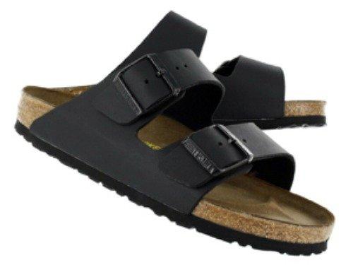 Birkenstock Women's Arizona Birko-Flo Black Birko-flor Sandals - 35 R EU (US Women EU's 4-4.5)