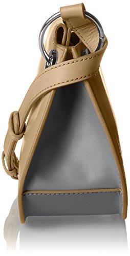 BREE Damen Cordoba 6 Umhängetasche, 19x9x25 cm Mehrfarbig (Camel/ Cognac)