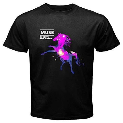 New Muse Knights of Cydonia Rock Band Men's Black T-Shirt