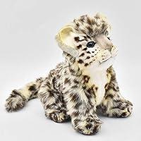 HANSA Plush Snow Leopard Sitting 20cmh/20cml