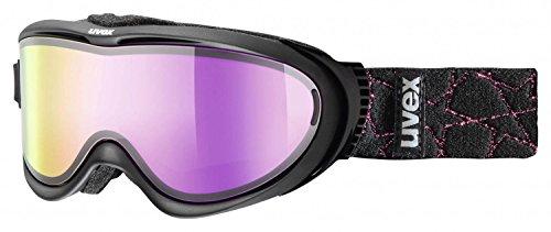 UVEX Skibrille comanche TO Black/Litemirror Pink, One size