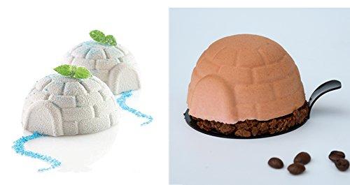 Open Buy Moule à glace 3D en silicone, en forme d'igloo
