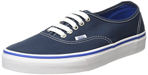 Vans Unisex-Erwachsene Authentic Low-Top, Blau (Midnight Navy/True White), 43 EU